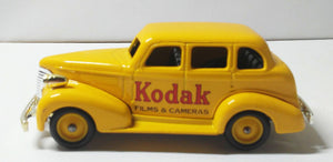Lledo Promotional LP48 Kodak 1939 Chevrolet Car Made In England - TulipStuff