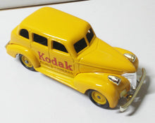 Load image into Gallery viewer, Lledo Promotional LP48 Kodak 1939 Chevrolet Car Made In England