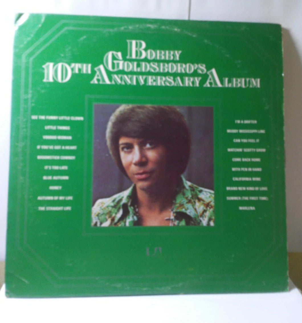 Bobby Goldsboro's 10th Anniversary Album Vinyl 2x12 inch LP United Artists UA-LA311-H2  1974 - TulipStuff