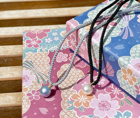 Kumihimo & Pearl Necklaces