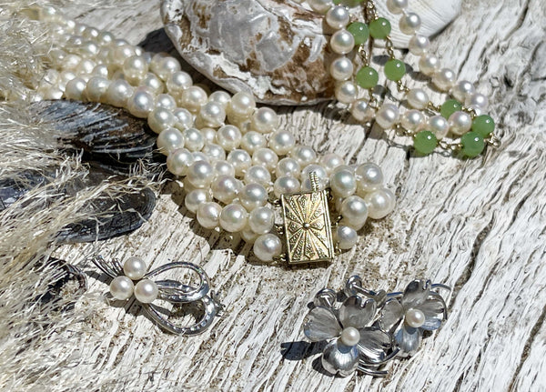 Collection of Vintage Pearl Jewelry