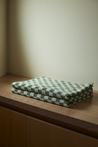 Beppu Bath Mat in Sage & Chalk