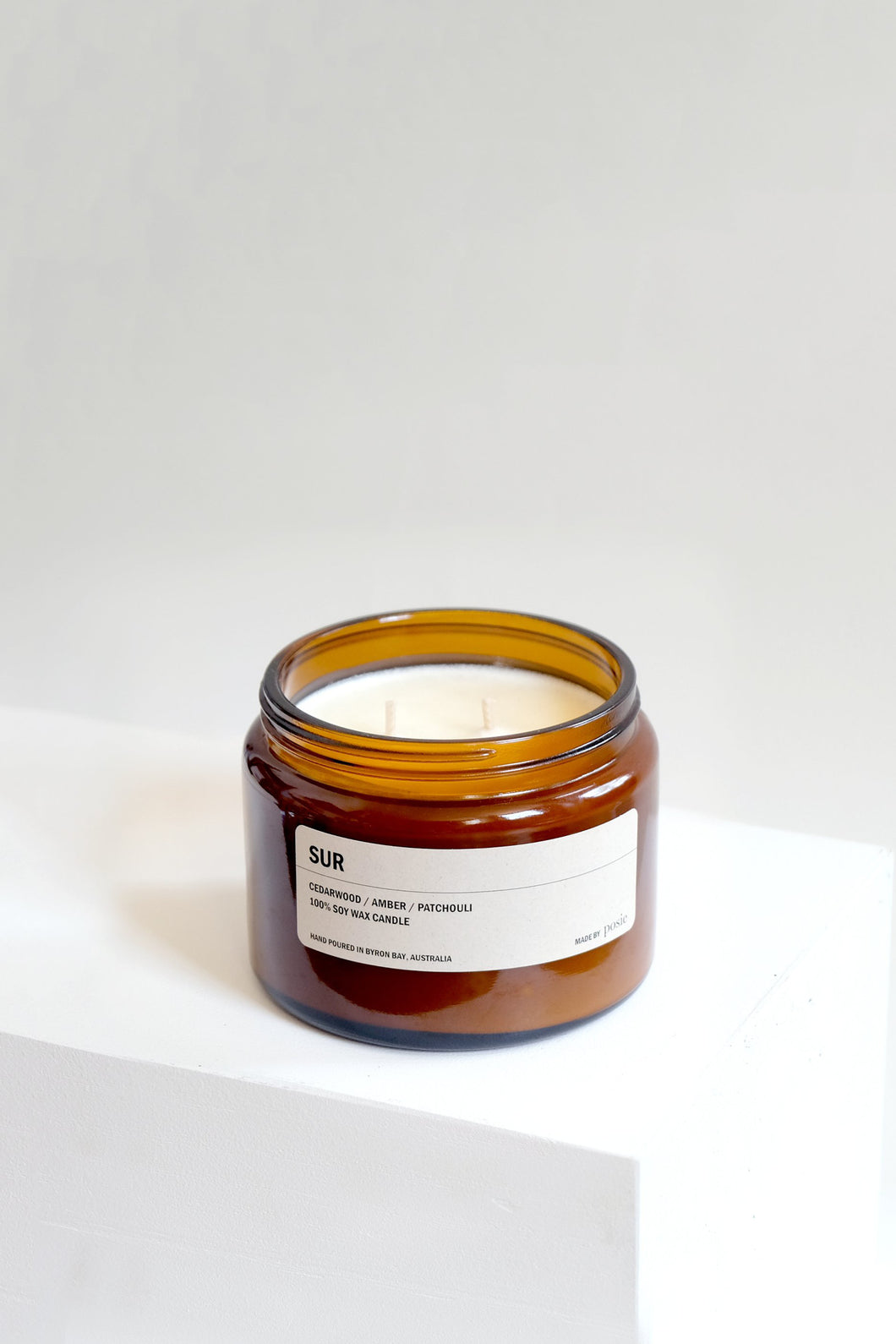 SUR: Cedarwood, Amber & Patchouli / Large