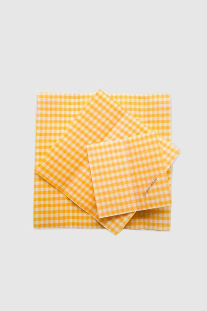 Beeswax Wrap - Yellow