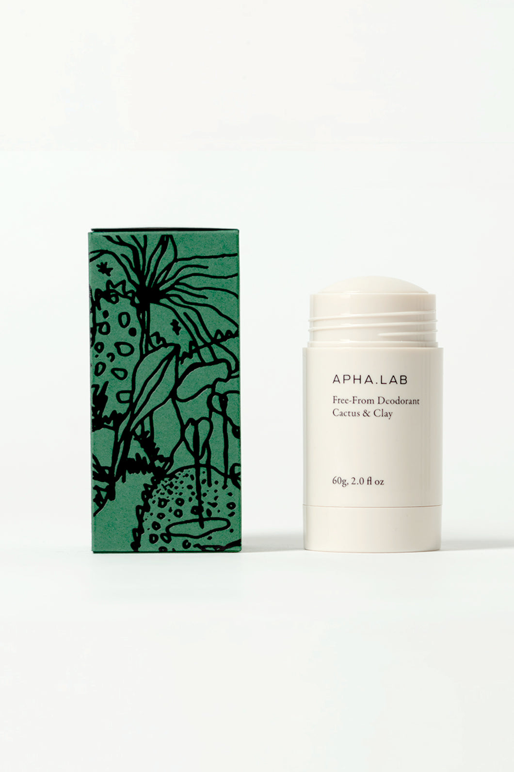 APHA.LAB Cactus & Clay Free-From Deodorant