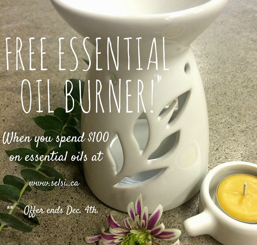Essential Oil Burner