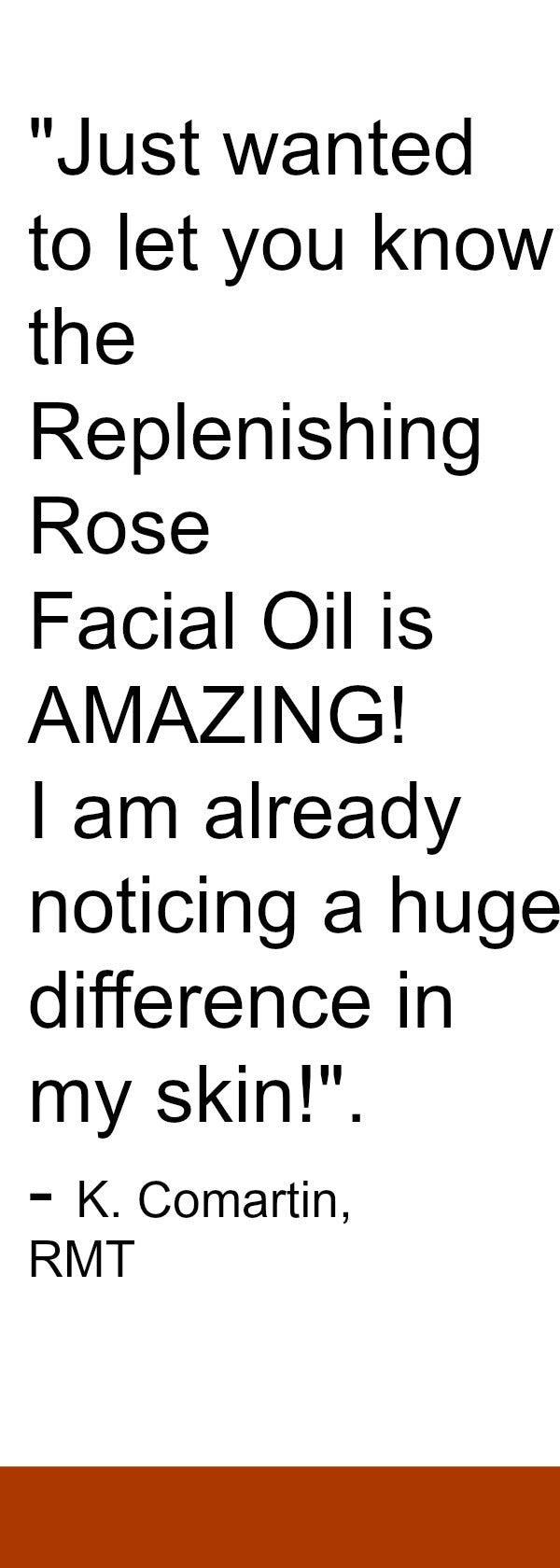 Facial Oil Rose for Dry Skin and Oily Skin All skin types