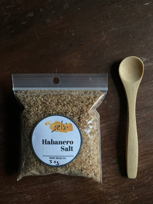 Habanero Sea Salt per Oz Bulk