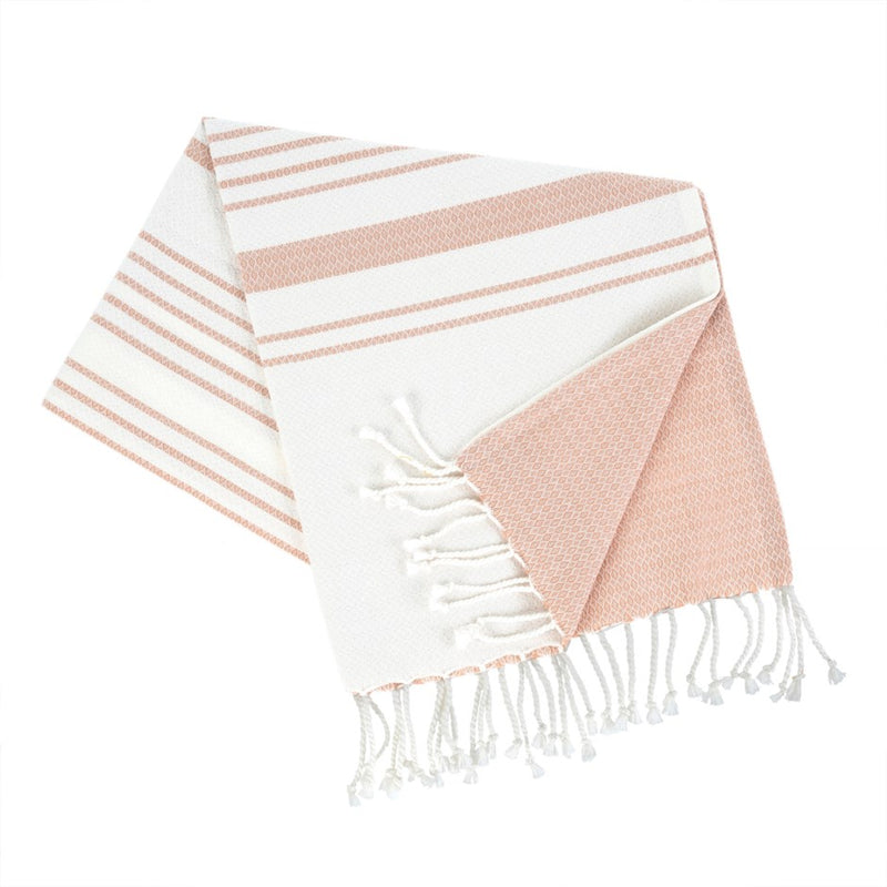 TURKISH BATH TOWEL, PINK - Kate & Co. Home