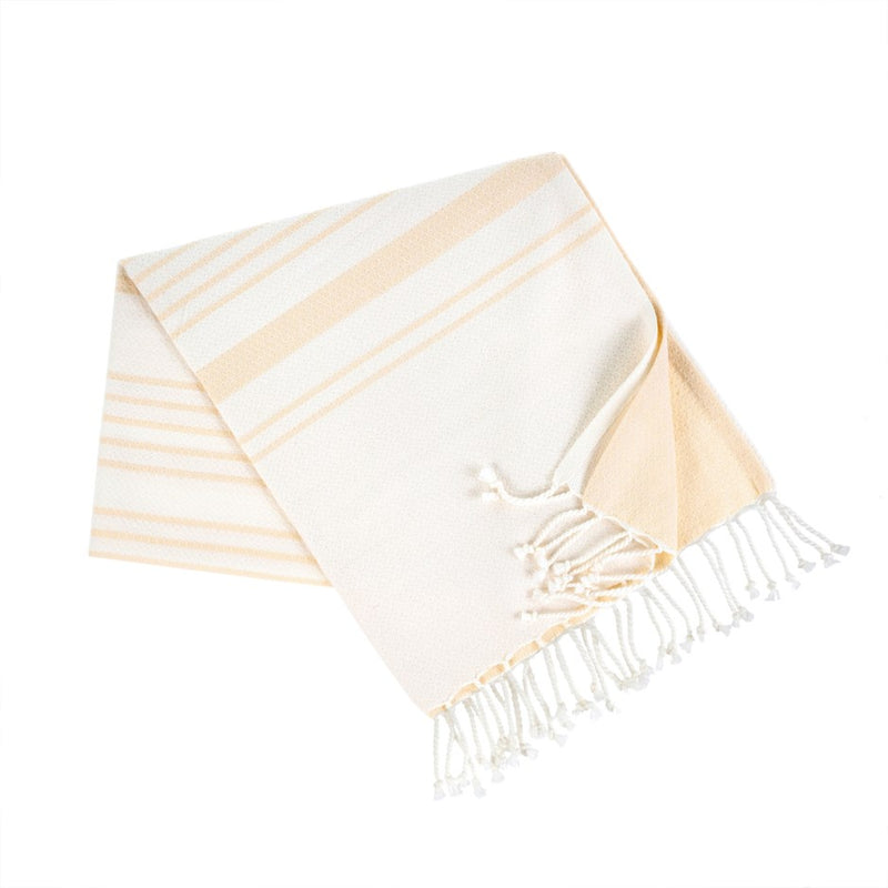 TURKISH BATH TOWEL, NATURAL - Kate & Co. Home