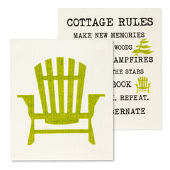 CHAIR & RULES DISH CLOTHS - Kate & Co. Home