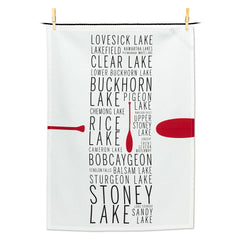 KAWARTHA LAKES NAME TEA TOWEL - Kate & Co. Home