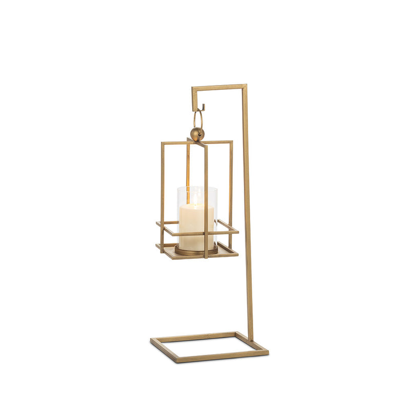 SMALL HANGING LANTERN WITH STAND