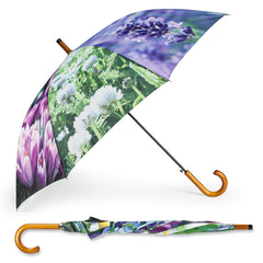 STICK UMBRELLA WITH ASSORTED FLOWERS - Kate & Co. Home