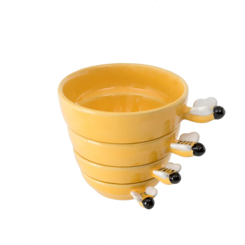 BUMBLEBEE MEASURING CUPS SET OF 4 - Kate & Co. Home