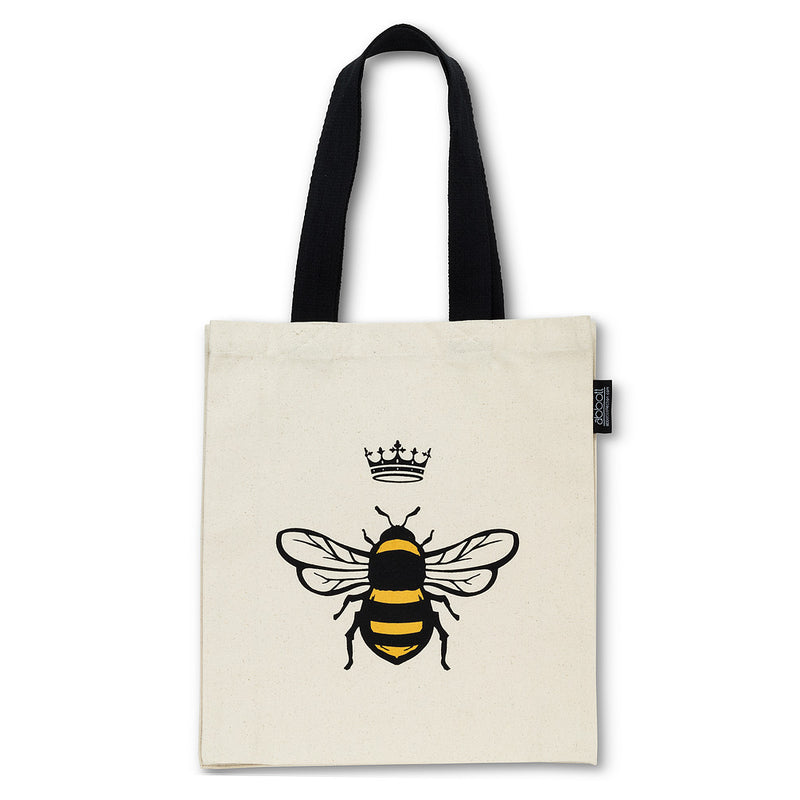 BEE WITH CROWN TOTE BAG - Kate & Co. Home