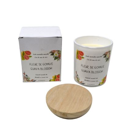 GUAVA BLOSSOM CANDLE - Kate & Co. Home