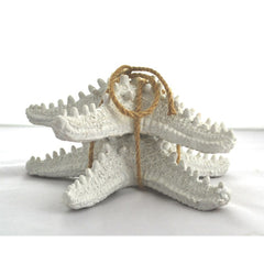 STARFISH-WHITE SET OF 2 - Kate & Co. Home