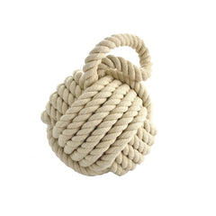 ROPE BALL-WHITE - Kate & Co. Home