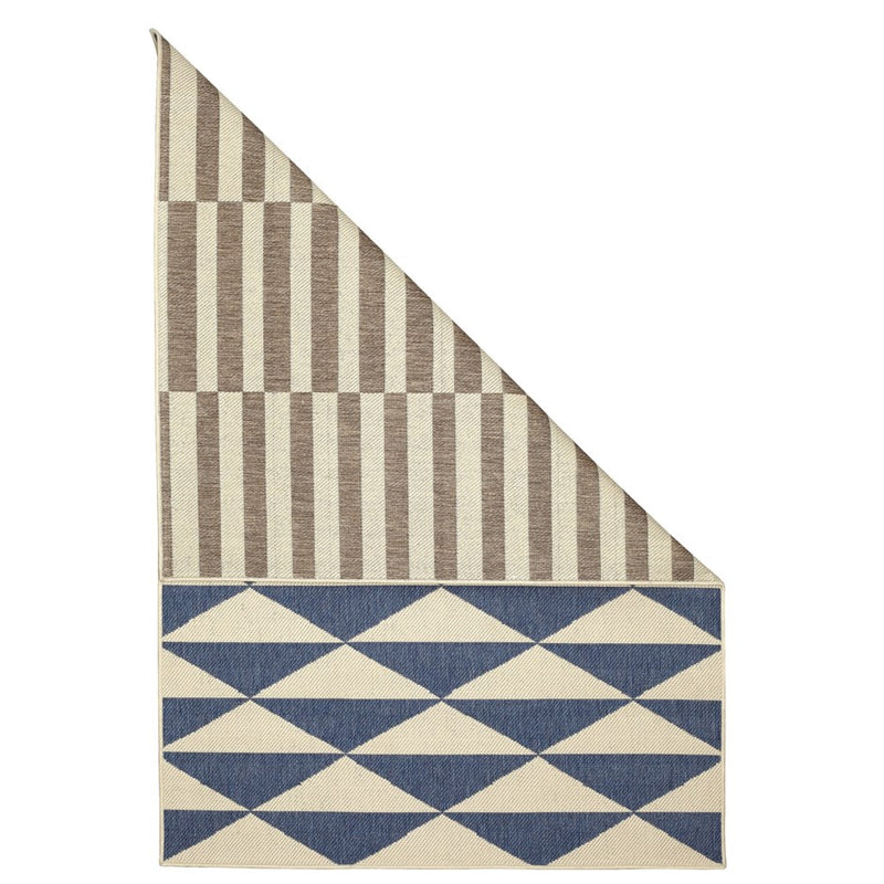 GEMINI INDOOR/OUTDOOR DUAL FACED AREA RUG - Kate & Co. Home