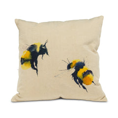 SQUARE BEES PILLOW - Kate & Co. Home