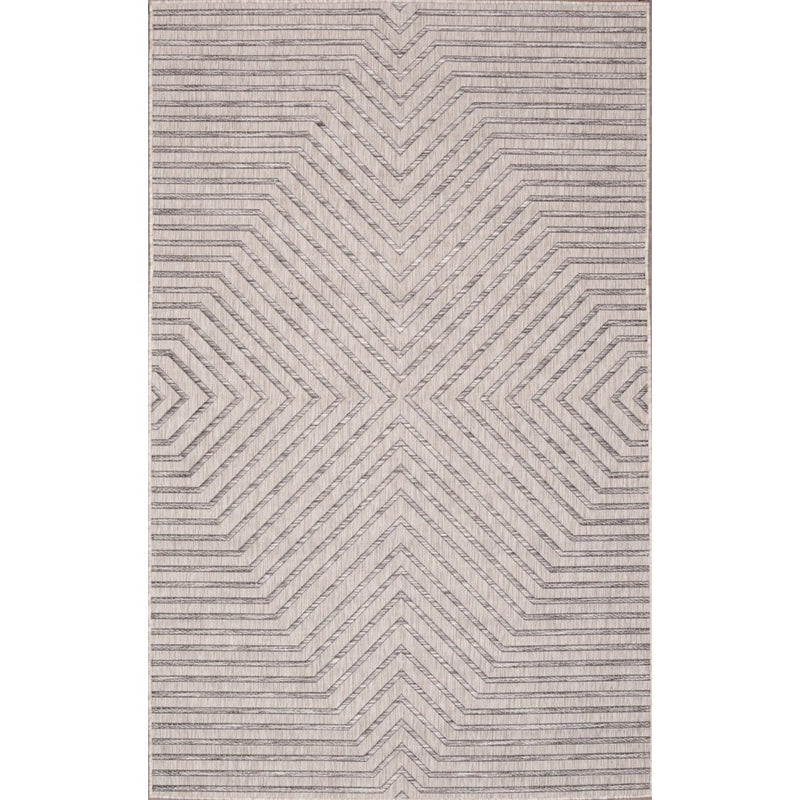 CARNIVAL INDOOR/OUTDOOR RUG LIGHT GREY - Kate & Co. Home