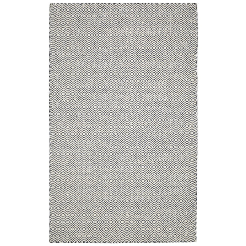 CHICAGO FLAT WEAVE REVERSIBLE IVORY/NAVY RUG