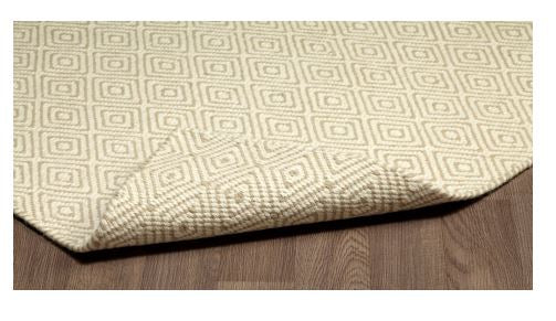 CHICAGO FLAT WEAVE REVERSIBLE WOOL RUG IVORY BEIGE - Kate & Co. Home