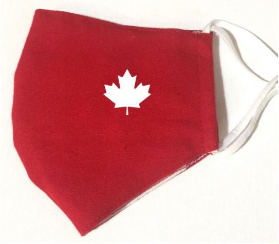 CANADA MASK RED