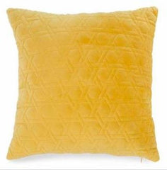 DQ1012 YELLOW VELVET CUSHION