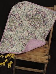 LAVENDER THROW - Kate & Co. Home