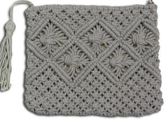 ERIN MACRAME BAG - Kate & Co. Home