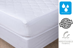 ESSENTIAL DU LUXE JACQUARD MATTRESS PAD AND 233T/C PILLOW PROTECTOR - Kate & Co. Home