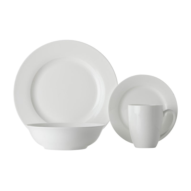 DINNER SET RIM SOHO 16PC - Kate & Co. Home