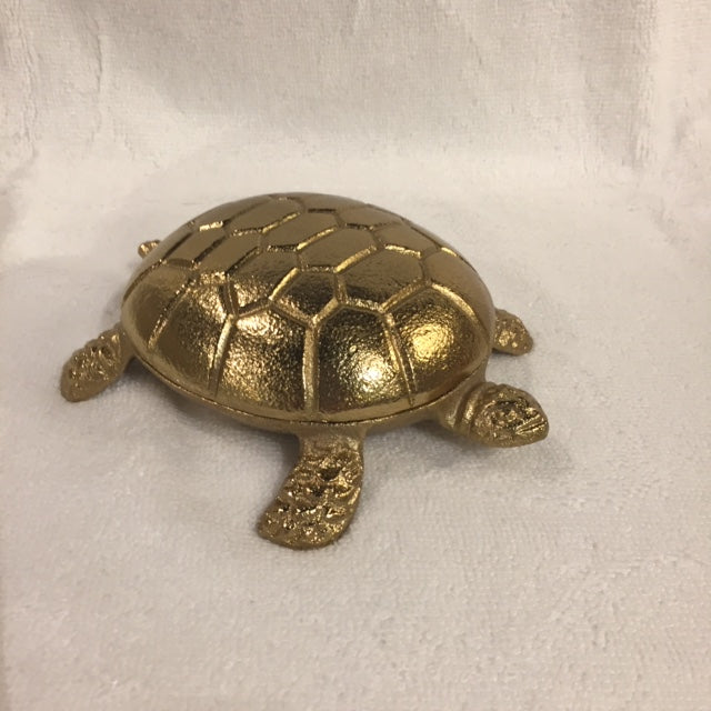 BRASS TURTLE BOX - Kate & Co. Home