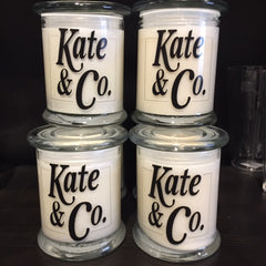 KATE & CO. JAR CANDLES - Kate & Co. Home