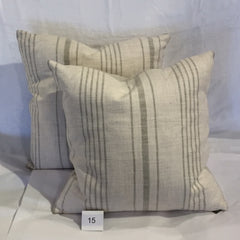 COTTON/LINEN ACCENT CUSHION - Kate & Co. Home