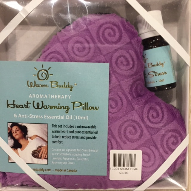 AROMATHERAPY HEART WARMING PILLOW GIFT SET - Kate & Co. Home