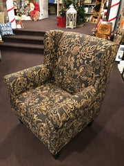 1224-30 TRADITIONAL WING CHAIR