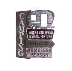 WOOD/METAL SIGN...HOMELESS - Kate & Co. Home