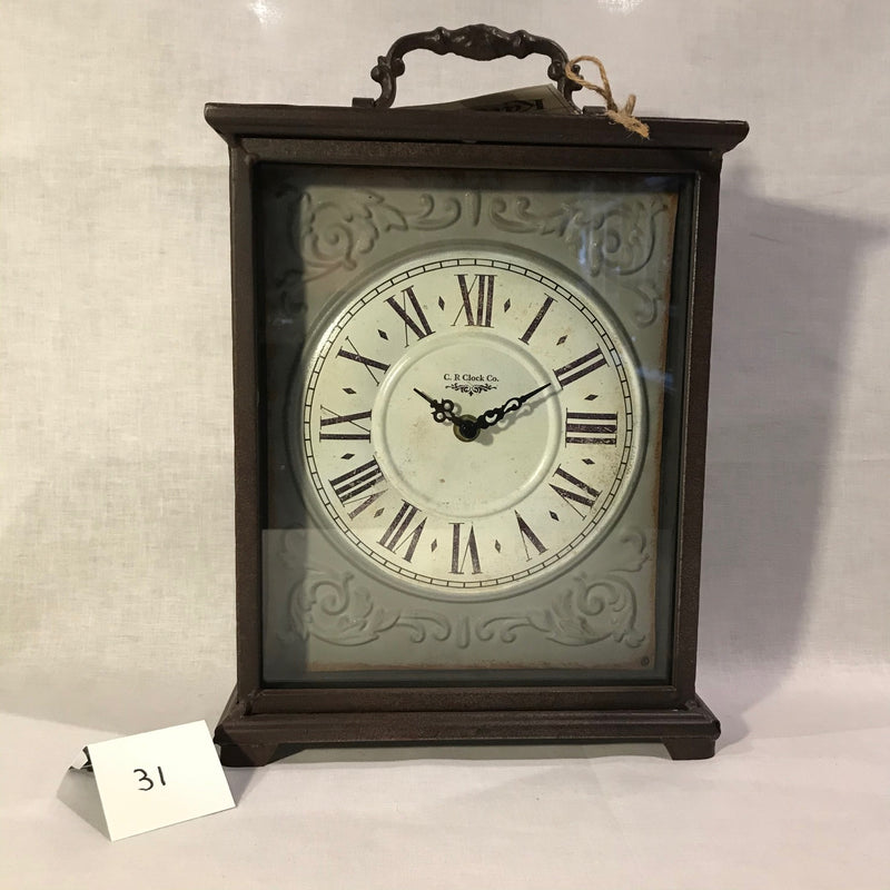 IRON MANTLE CLOCK