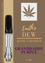 Load image into Gallery viewer, Granddaddy Purple - Delta 8 THC Vape Cartridge