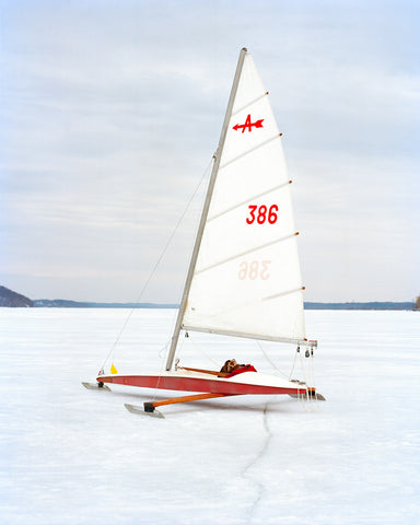 Ice Yachting, Atlas Magazine, Hudson Valley Ice Yachting Club