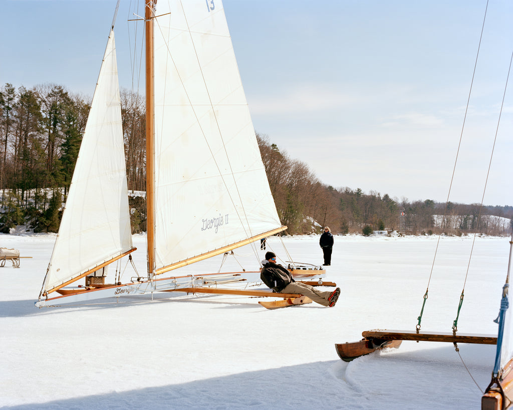 Ice Yachting