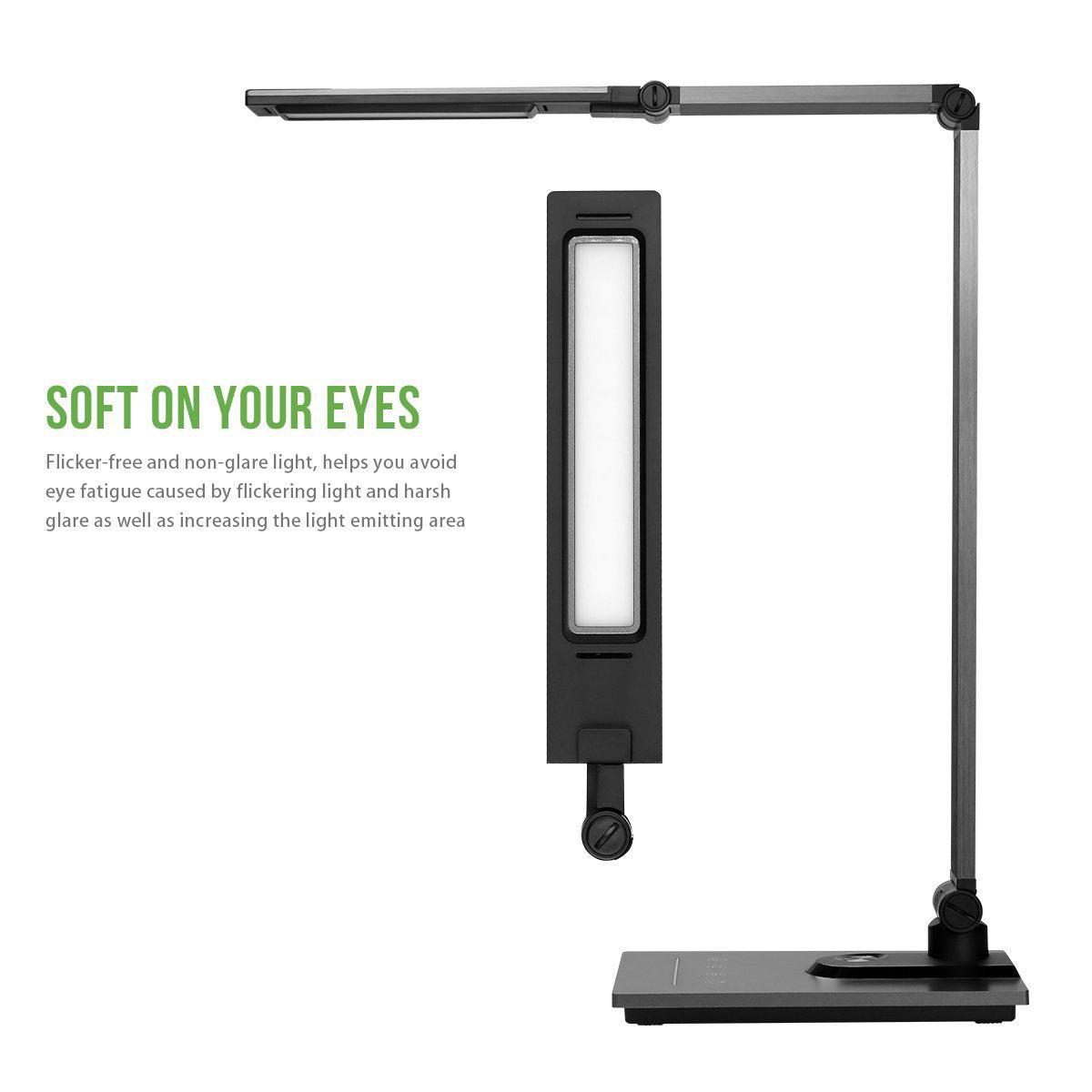 Softech - Natural Light Smart LED Lamp with Stylish Aluminum Alloy Lamps