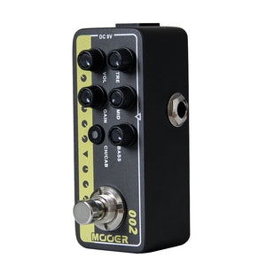 MOOER 002 UK Gold 900 Digital Preamp