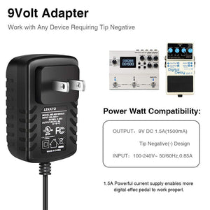 LEKATO 6 way power cable adapter