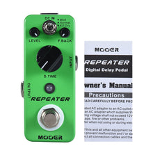Load image into Gallery viewer, MOOER REPEATER Delay
