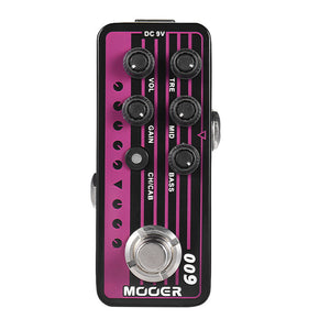MOOER 009 Blacknight Digital Preamp