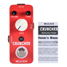 Load image into Gallery viewer, MOOER Cruncher High Gain Distortion